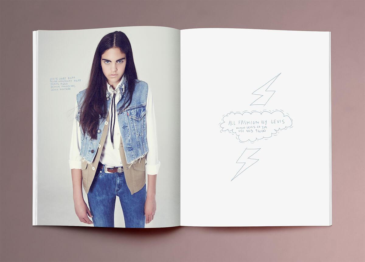 Afashionfriend Magazine Layout Design