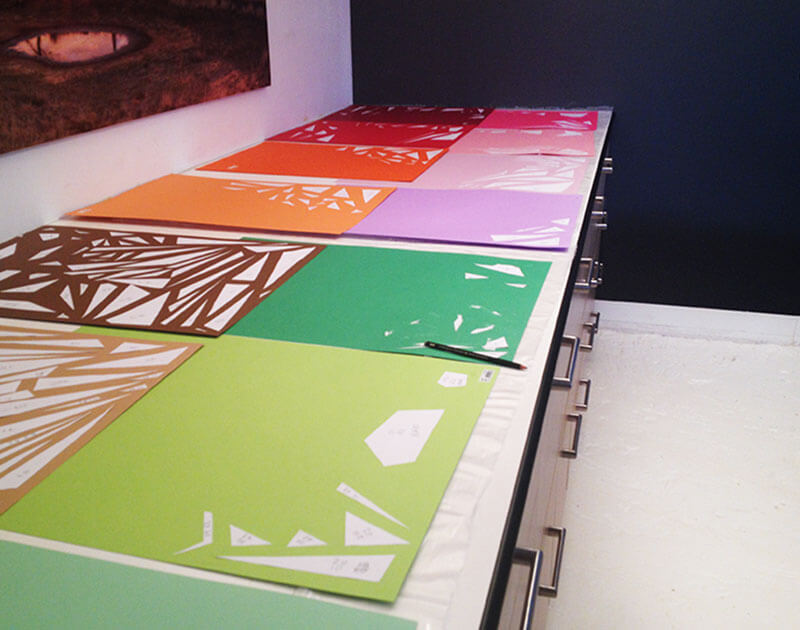 Creation Paper Installation