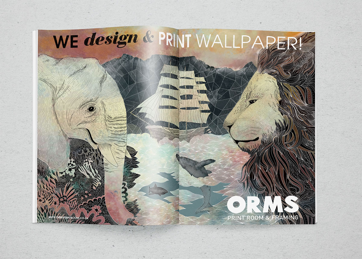 Orms Cape Town Mural