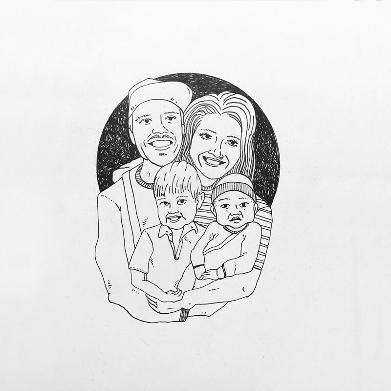 Family Portrait Artist